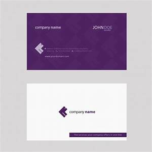 Purple business card vector free download for Purple business cards