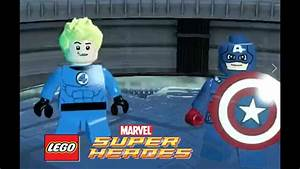 Captain America and Human Torch - Lego Marvel Super Heroes ...