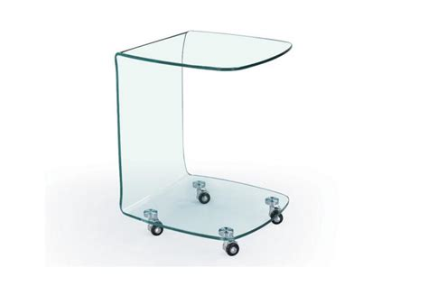 bout de canapé en verre bout de canapé toby design sur sofactory
