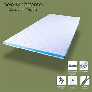 Gel Topper 200x200 : gel topper 90x200 gelschaum matratzen matratzenauflage matratzentopper auflage ebay ~ Orissabook.com Haus und Dekorationen
