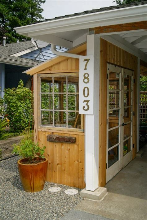 Version 1 has the advantage that it is all wood, and has a nice appearance. Lean To Greenhouse /shed to carport. Edmonds In Bloom ...