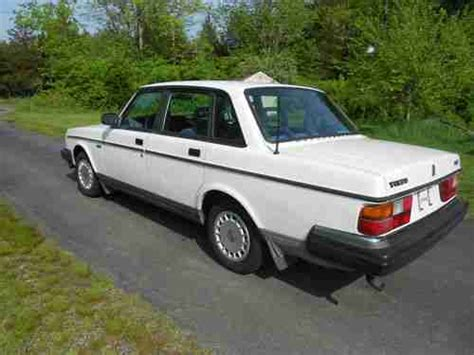 sell used 1992 volvo 240 condition 4 cylinder clean in jewett city connecticut united