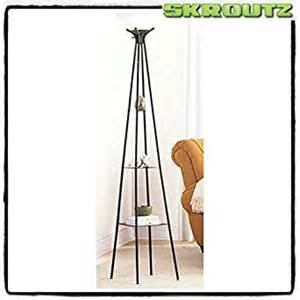 skroutz and decorative mainstays etagere 71 quot floor l with cfl bulb with 3 metal