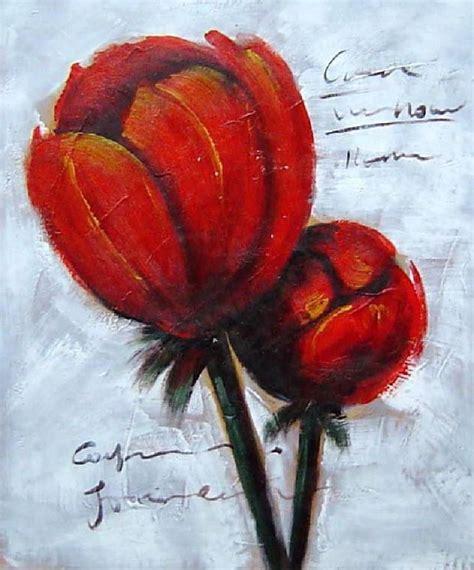 peinture moderne abstraite fleurs peinture moderne fleurs oranges http www peintures sur toile peintures toiles fleurs xsl
