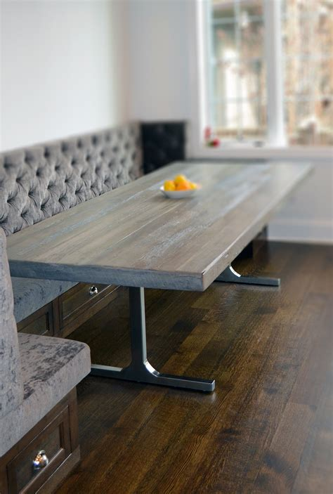 rustic grey dining table grey rustic modern dining table abodeacious 4976