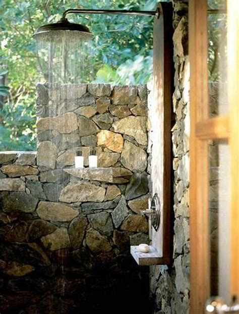 awesome outdoor showers  bathrooms homemydesign