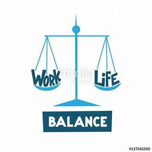 """WORK-LIFE BALANCE icon"" Stock image and royalty-free ..."