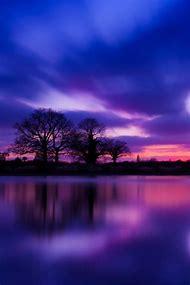 Beautiful Sunset Sky Color