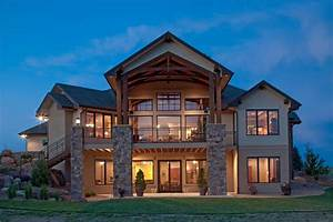 Luxury Craftsman 2 Story House Plans — HOUSE STYLE AND PLANS