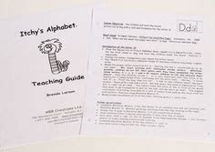 itchys alphabet english materials images