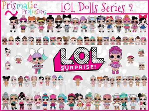 lol surprise dolls series  image clipart lol design