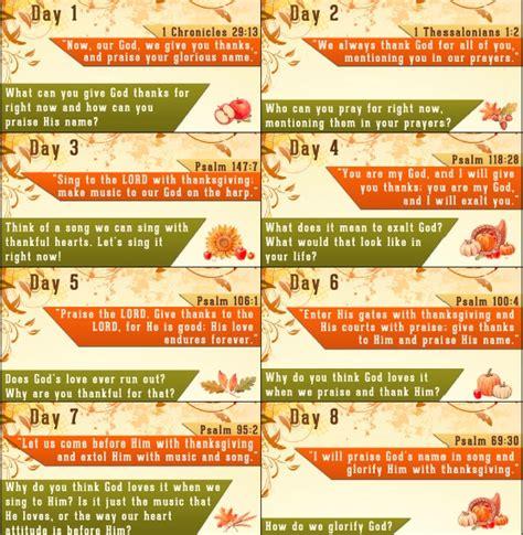 thanksgiving bible verses  thanksgiving countdown