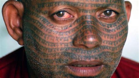 Full Face Tattoo
