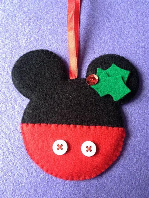 handmade shabby chic felt christmas tree decorations