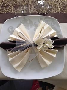 Pliage De Serviette Papillon : pliage serviette servietten vouwen pinterest ~ Melissatoandfro.com Idées de Décoration
