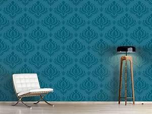 Tapete Petrol Muster : die besten 25 barock tapete ideen auf pinterest barock schlafzimmer barock stil und barock ~ Eleganceandgraceweddings.com Haus und Dekorationen