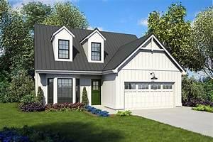 Modern Farmhouse Plan with Hearth Room - 69275AM ...