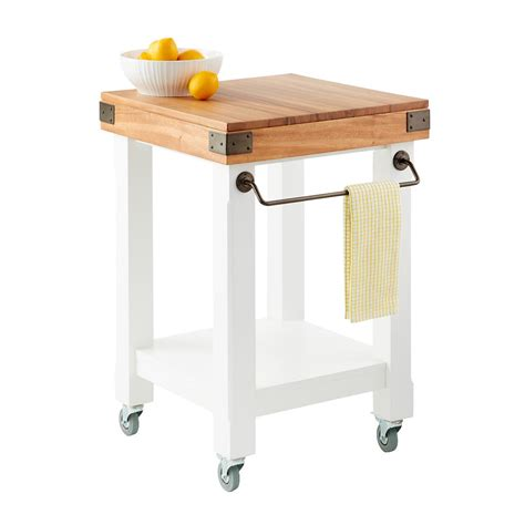 kitchen rolling islands butcher block rolling kitchen island cart the container