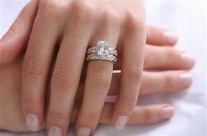 do you wear your engagement ring on your wedding day With which way do you wear your wedding rings