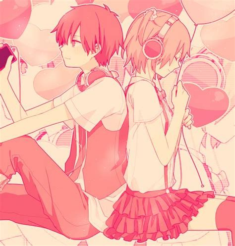 anime couples valentine s day valentines anime couple anime cute couples pinterest