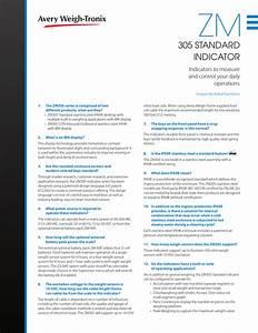 Avery Weigh Tronix Zp900 Manual