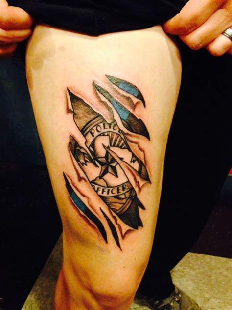 48  Police Tattoos Golfiancom