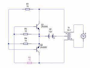 Need Help On 2n3055 12v Dc To 220v Ac Inverter Circuit