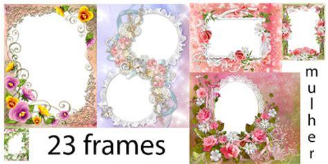 Frames - Dia internacional da mulher | Imagens para photoshop