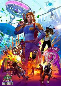 Lawbreakers Devs' Next Game, Radical Heights, Is Battle ...
