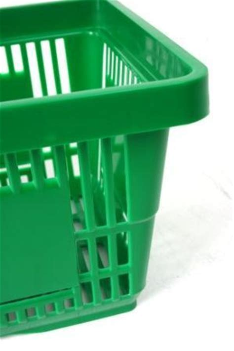 green plastic shopping baskets filplastic uk