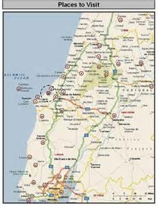 Silver Coast Portugal Map