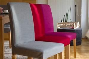 Stuhlhussen Selber Nähen : farbenrausch im wohnzimmer stuhlhussen tischsets und ~ Indierocktalk.com Haus und Dekorationen