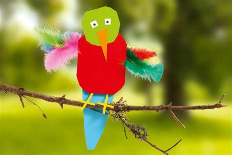 quiz de cuisine papagei basteln aus papier familie de