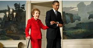 The Tunnel Wall: Obama To Skip Nancy Reagan's Funeral ...