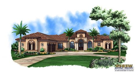 Mediteranian House Plans by Luxury Mediterranean House Plans With Photos