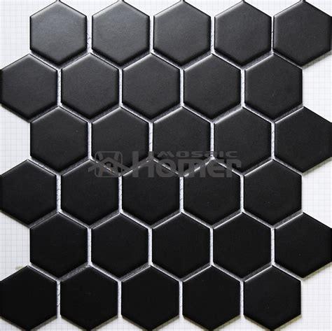 black hexagon floor tile shipping free hexagon black ceramic mosaic bathroom shower tiles floor mosaic tiles mesh