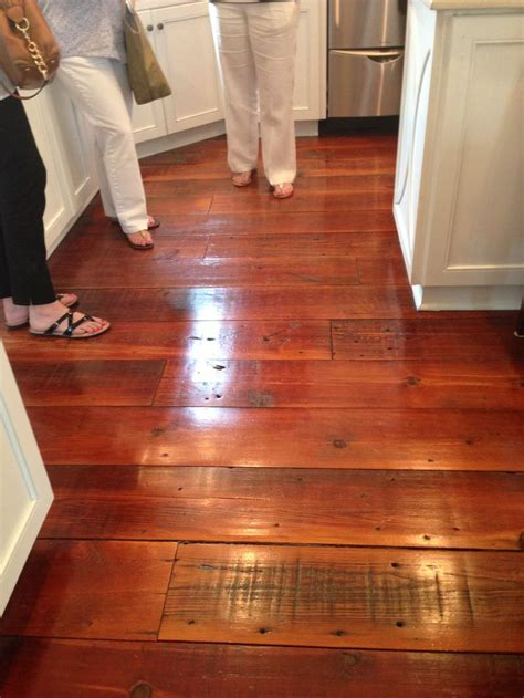 antique heart pine floors   home interiors   Pinterest