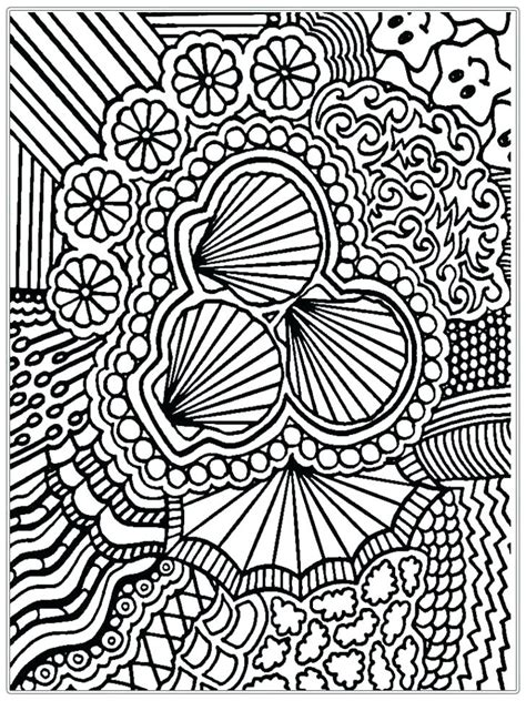 seashell coloring page  getcoloringscom