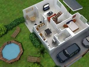 residence les perles de soula villa t4 annonce With lovely surface d une maison 14 construction 86 fr gt plan maison demi sous sol