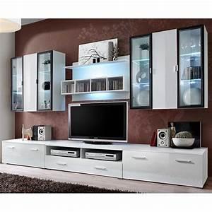 Tele 190 Cm : meuble tv mural design quadro 300cm blanc ~ Teatrodelosmanantiales.com Idées de Décoration
