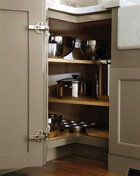 17 best ideas about corner cabinet kitchen on pinterest