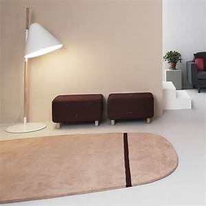 oona tapis design normann copenhagen en laine disponible With tapis rouge avec canapé normann copenhagen
