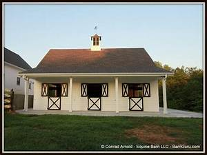 3 stall horse barn exterior photos barn plans With 8 stall horse barn