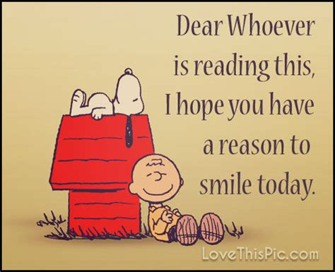dear   hope    reason  smile pictures