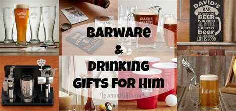 Barware And Drinking Gift Ideas For Him