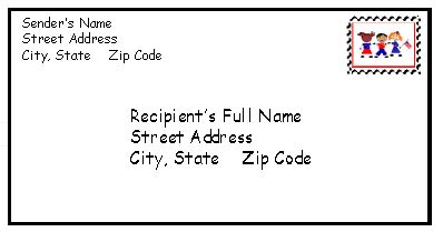 how to address an envelope how to write a mailing address on an enevelope new