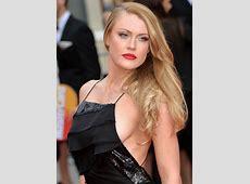 Gemma Arterton threatens wardrobe malfunction with