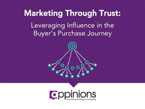 marketing through marketing through trust