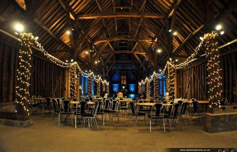 uplighting  fairy lights  ruislip manor farm great barn