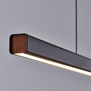 Mumu Linear Suspension Pendant Light by SEED Design